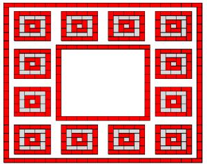 mozaic square